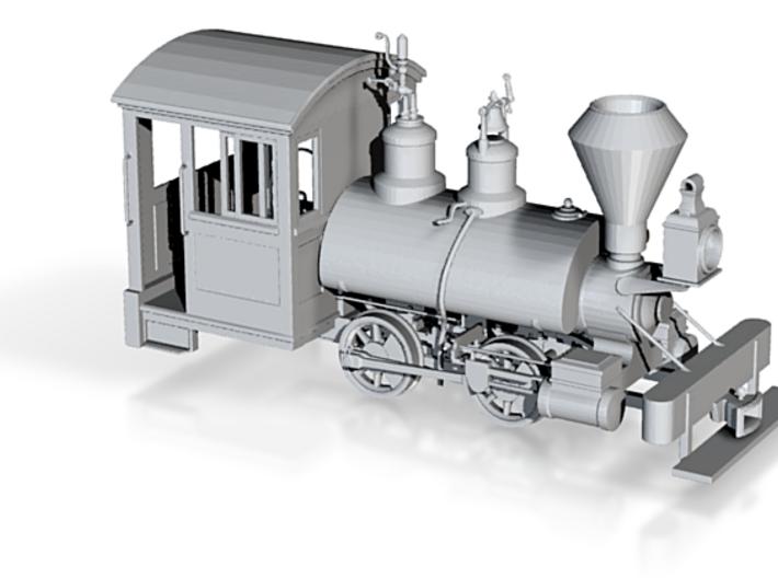 Kauila 1:72 scale Baldwin Locomotive 3d printed