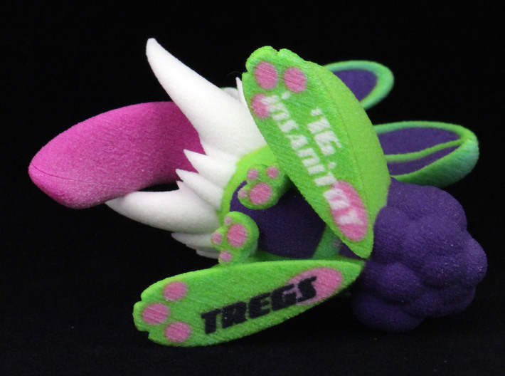 Monster Bunny #6 - Freak / Stretch 3d printed Bottom- some colors and details may vary from photos