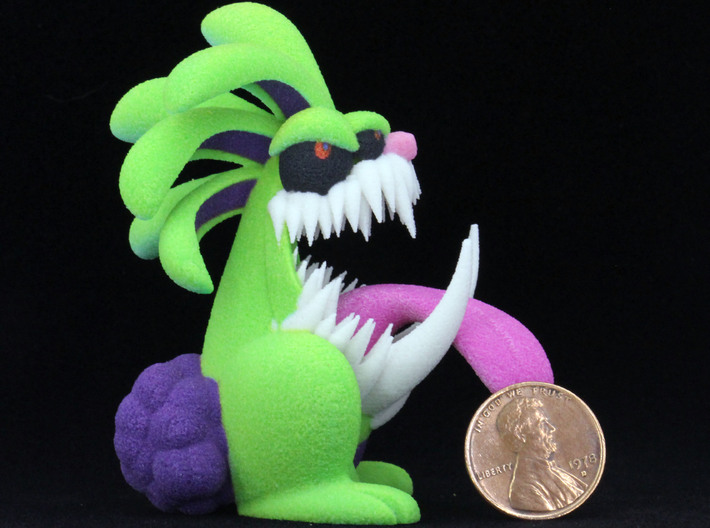 Monster Bunny #6 - Freak / Stretch 3d printed Test print at size listed