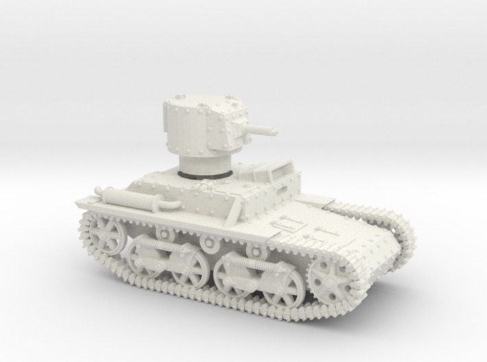 Carden Loyd Light Tank Mk.VIII (1:100 scale) 3d printed