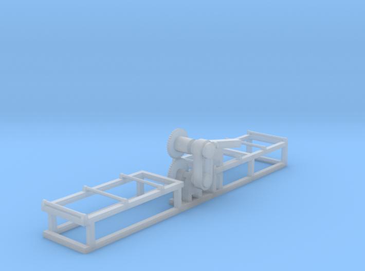 Saw1- N 160:1 Scale 3d printed