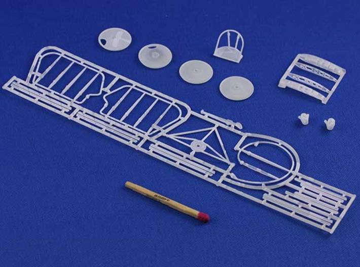 Fokker D.III A Accessories 1/32 3d printed