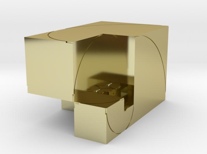 CW Golden Rectangular Box 3d printed
