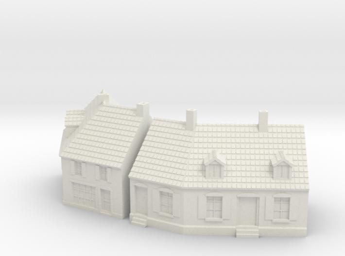 1:285 Cornerhouse 3-4 3d printed