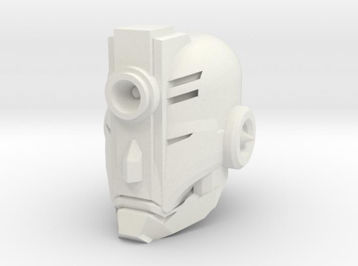 """Junior"" custom 1:6th scale head 3d printed"