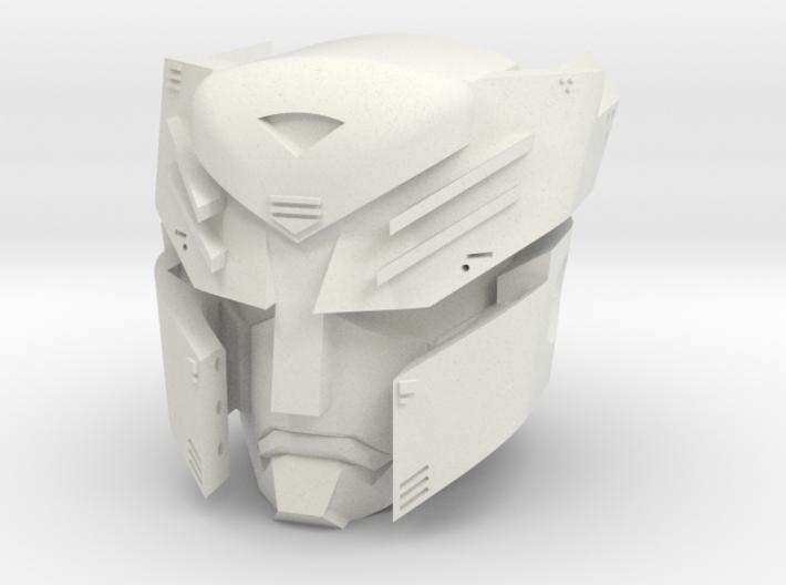 """""""Autoboticus"""" custom 1:6th scale head 3d printed"""