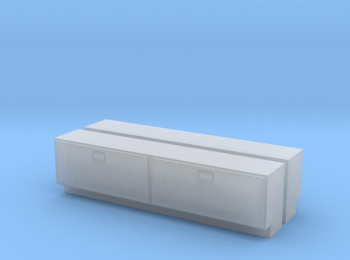 1/64 Side Tool Box - Greenlight Pickups 3d printed