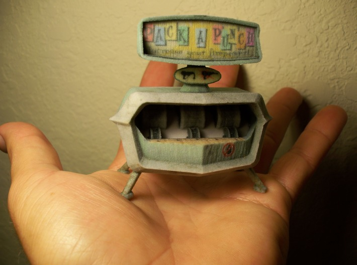 Pack-a-Punch - Nazi Zombies Miniature Perk Machine 3d printed