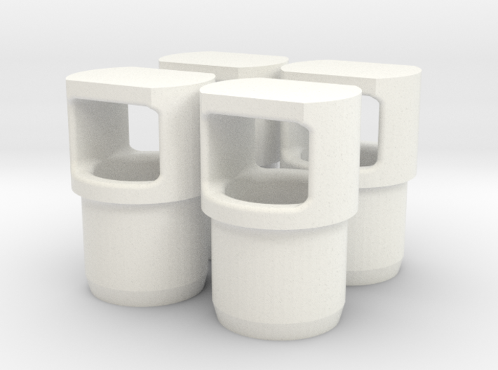Motor Arm End Cap Set of 4 - Protects Motor Wires  3d printed