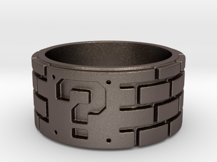 Mario Ring Size 8 3d printed