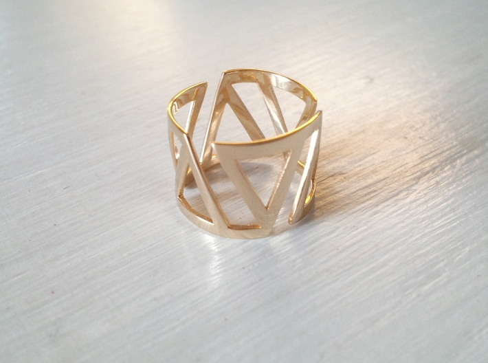 VOLTA Women Ring [Multiple Sizes] 3d printed