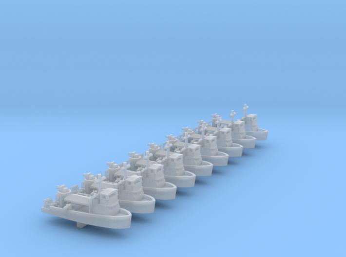1/700 Scale Vietnam MSB X 9off 3d printed