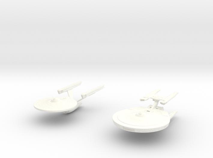 Stargazer Enterprise 3d printed