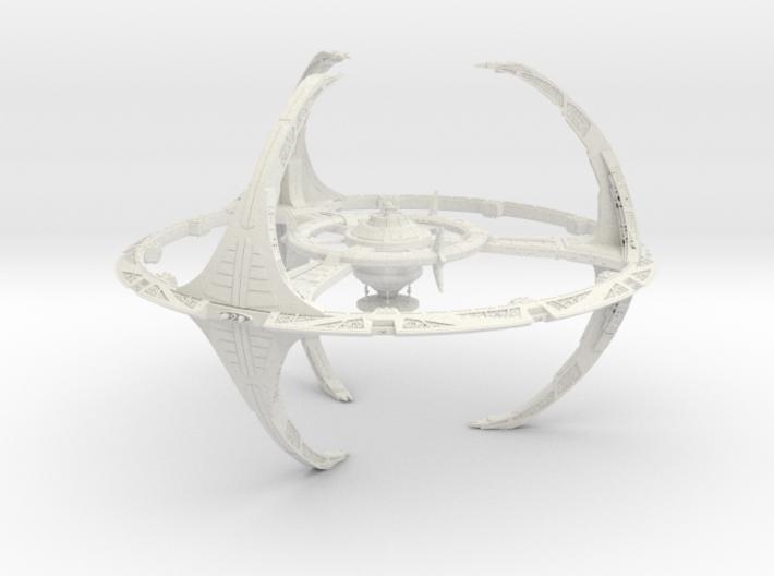 Deepspace 9 3d printed