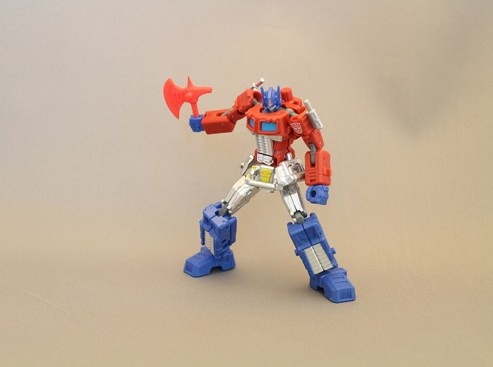 Energy Axe for Optimus Prime 3d printed