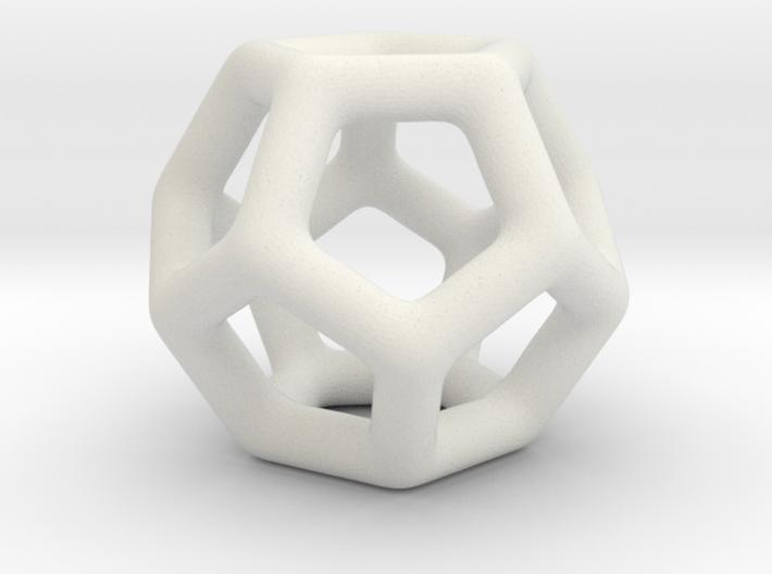 DRAW geo - sphere pentagons 3d printed