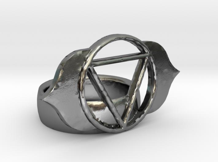 6th Chakra Ring 3d printed