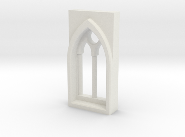 building details series - Gothic Window 5mm Type 2 3d printed