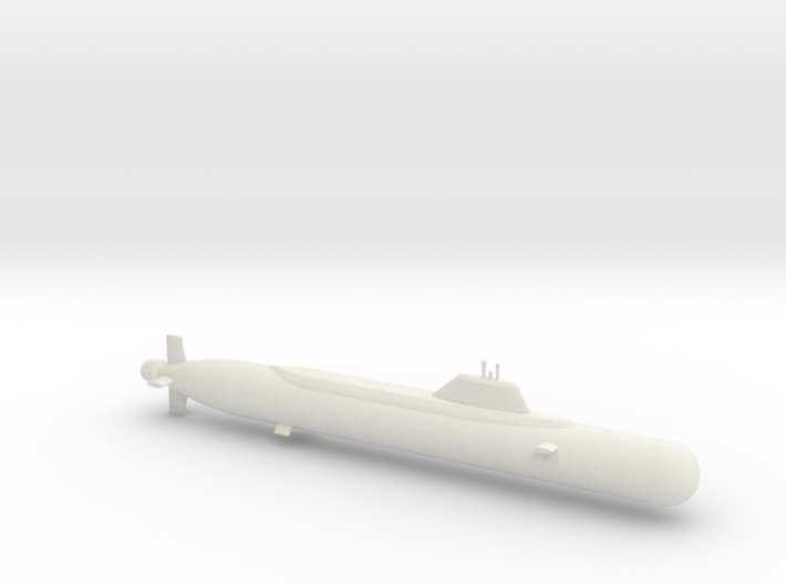 1/600 Yasen Class Submarine 3d printed