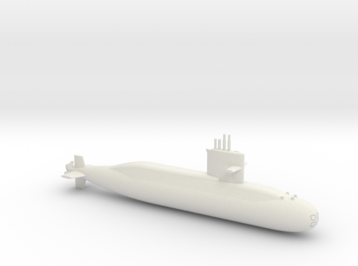 1/600 Zwaardvis / Hai Lung Class Submarine 3d printed