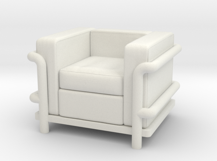 Le Corbusier chair 3d printed