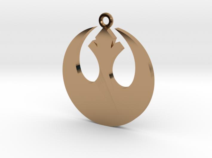 Star Wars Rebel Alliance Charm 3d printed