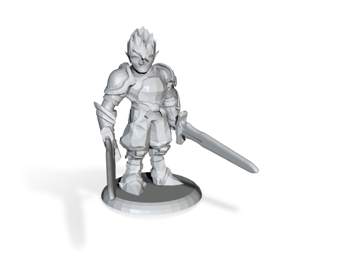 MIKAEL THE DUELIST 3d printed