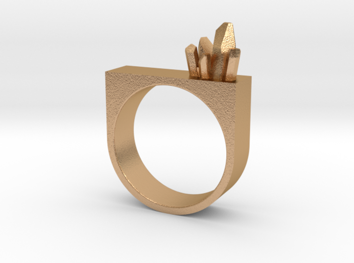 Mineral Ring 3d printed