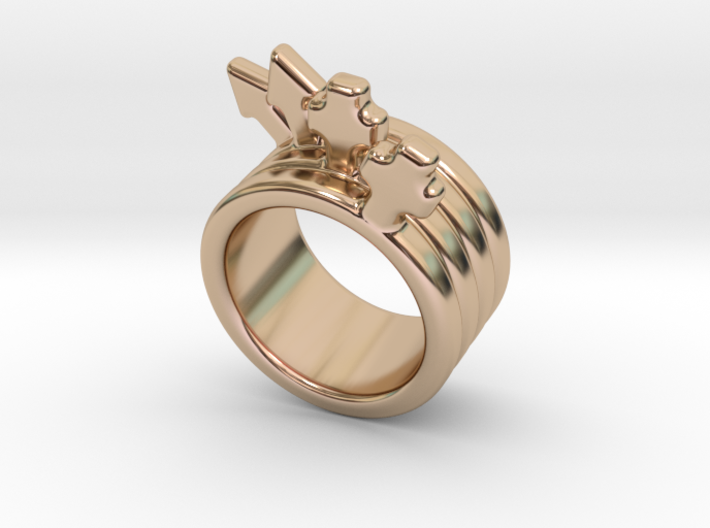 Love Forever Ring 25 - Italian Size 25 3d printed
