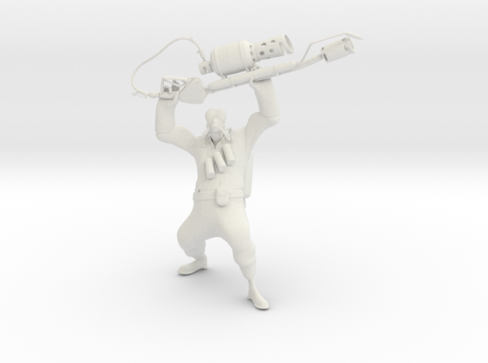 TF2 Pyro (proof of concept) 3d printed