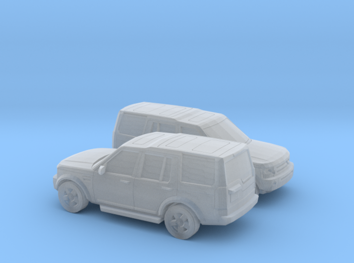 1/148 2X 2004-09 Land Rover Discovery 3d printed