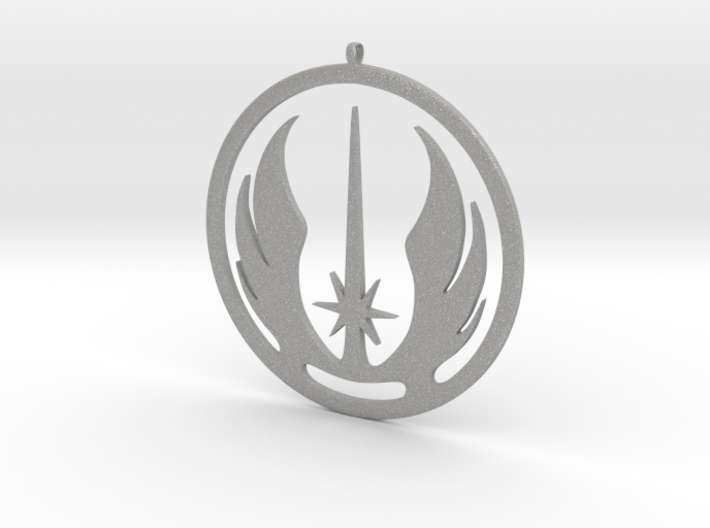 Symbol of the Jedi Order 3d printed