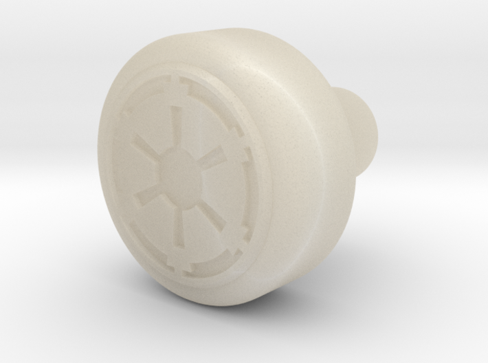 Galactic Empire Recharge Port Key 3d printed