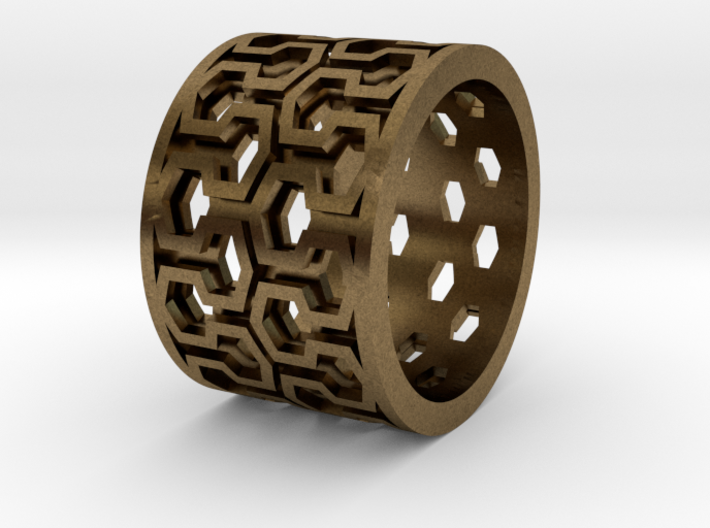 Plot Ring - Male 3d printed
