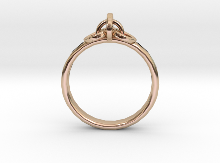 Ring for Joanne, Size H 1/2 3d printed