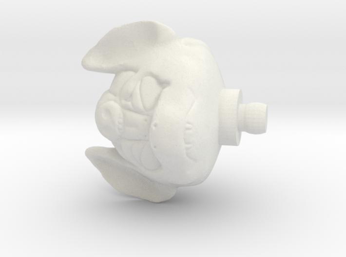 Glyos Bat Head 3d printed