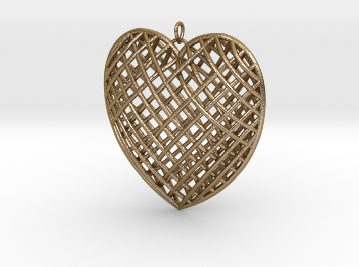 Pendent Heart 3d printed