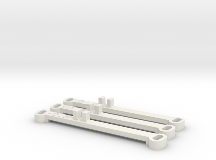 Kyosho MiniZ MR02 Toe Bars 3d printed
