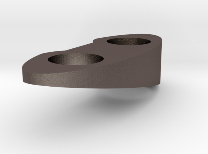 Top Piece - Right - Solid 12.5 Deg 3d printed