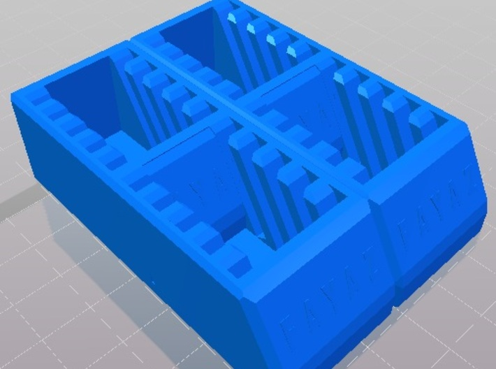 SD Card Holder that can hold 20 cards Sdcardhold20 3d printed