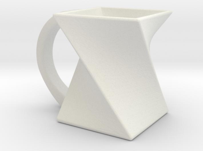 Twisting Mug 3d printed