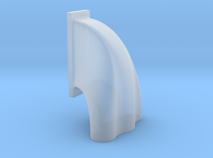 1/43 3 Uneq Sized Hole Injector Hat For GMC Blower 3d printed