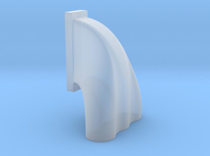 1/43 3 Eq Hole Inj Hat For 18-71 Kobelco Blower 3d printed