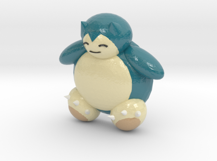 Snorlax (color) 3d printed