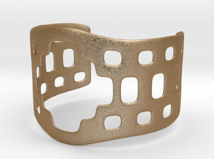 Aztec bracelet 3d printed