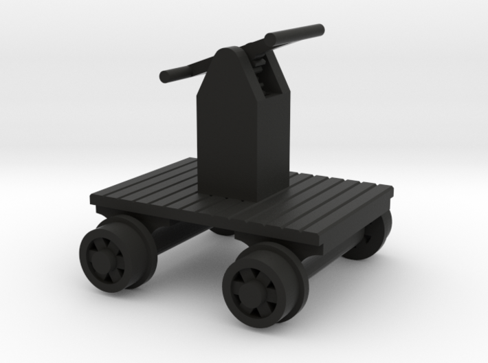 Hand Car - HO 87:1 Scale 3d printed
