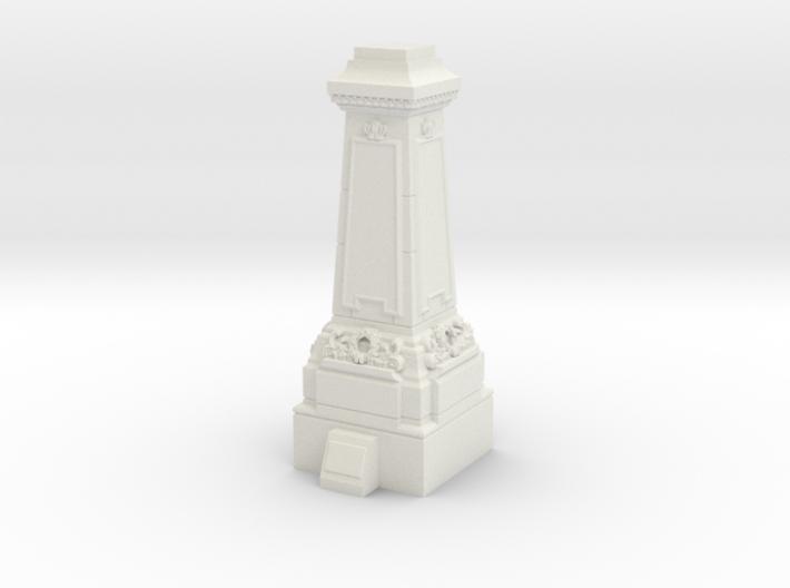28mm/32mm Statue Plinth 3d printed