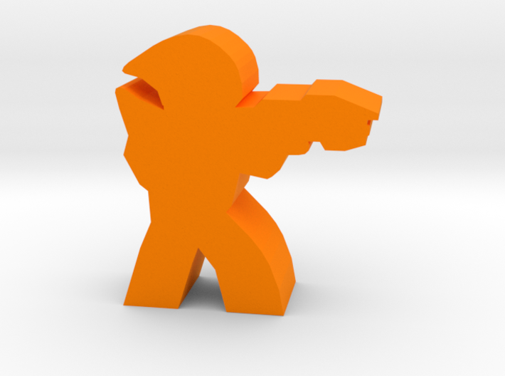 Game Piece, Ancients Trooper 3d printed