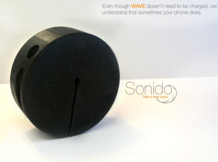 Sonido - WAVE (HQ Acoustic Speaker)  3d printed Charge!
