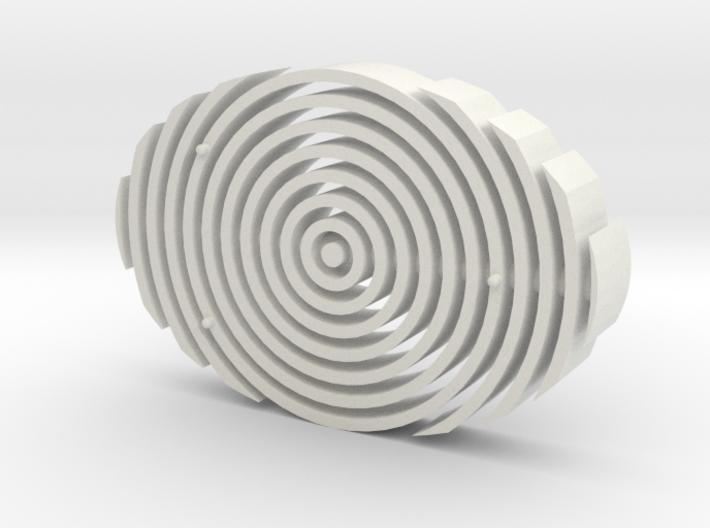 Ultramodern Soap Dish 3d printed